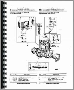 International Harvester Ud264 Power Unit Fuel Injection