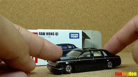 faw hong qi takara tomy tomica die cast car collection no cn 11 unboxing