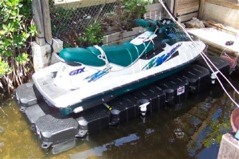 Sea Doo Jet Boat Floating Docks by Single Pwc Lift Jet Ski Floating Dock