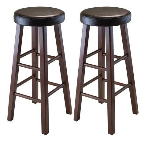 amazoncom winsome wood marta assembled  bar stool