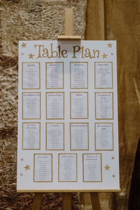 harry potter table l 23 best rustic scottish wedding with glittering golds