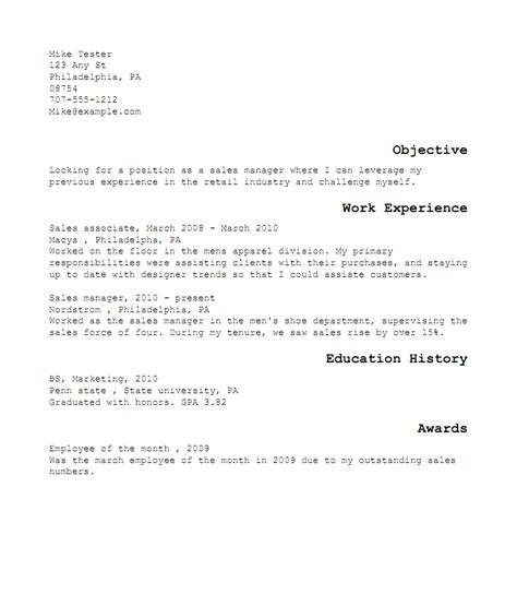Resume Creation Guide by Creating A Resume
