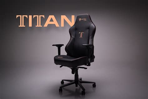 secretlab unveils the titan their largest chair yet