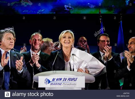 le bureau henin beaumont president far right stock photos president