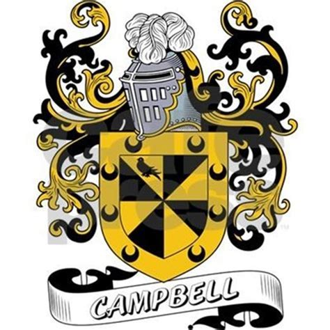 Campbell Coat of Arms Tile Coaster by familycoats
