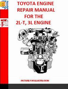 Toyota 2l-t  3l Engine Repair Manual Supplement 1990