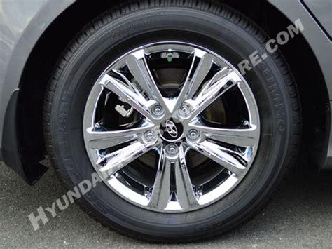 2011 13 hyundai sonata chrome wheel cover set gls model