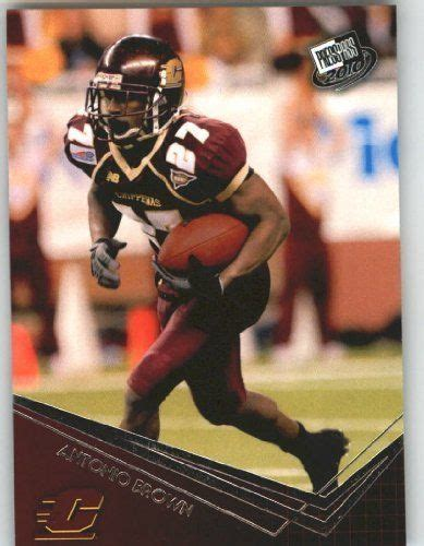 Antonio Brown WR - Central Michigan (RC - Rookie Card ...