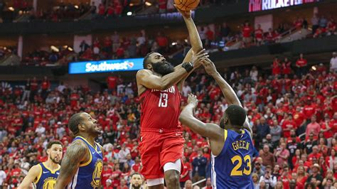 Warriors vs. Rockets: James Harden committed a charge on ...