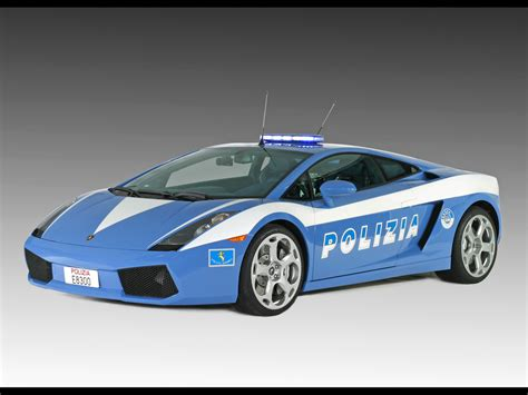 Lamborghini Gallardo Italian Police Car  Autos Recipeapart