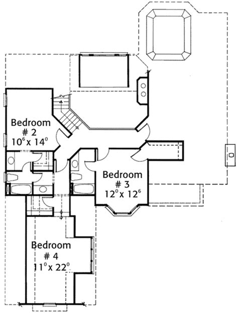 multi level floor plans multi level eaves 56115ad architectural designs