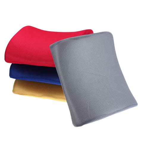 memory foam lumbar back support cushion pillow for office