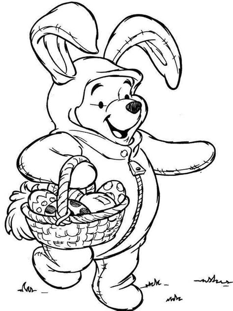 disney easter coloring pages  printable disney easter