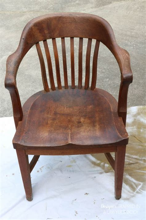 refinish wood chairs  easy
