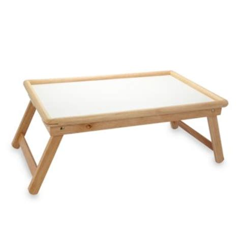 buy acacia bed tray from bed bath beyond