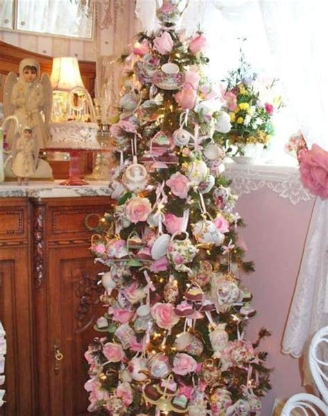 tea set christmas tree pictures   images