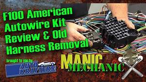 Bumpside F100 1967 1972 Cab Wiring Harness Removal Episode
