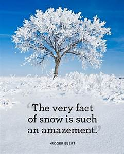 18 Best Winter Quotes - Snow Quotes You'll Love