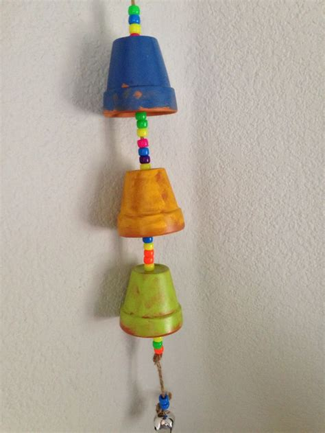 wind chime crafts for preschoolers mini clay pot wind chimes preschool crafts 252