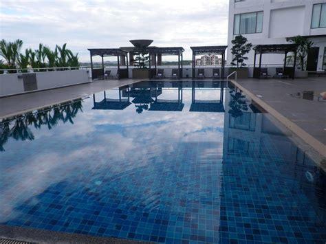 swimming pool terrace renaissance johor bahru hotel malaysia