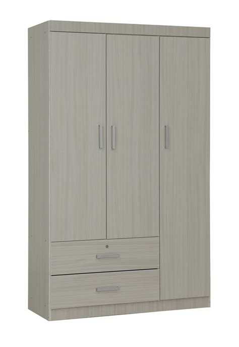 3 Door Wardrobe by Elifel 3 Door Wardrobe In White Wash Furniture Home