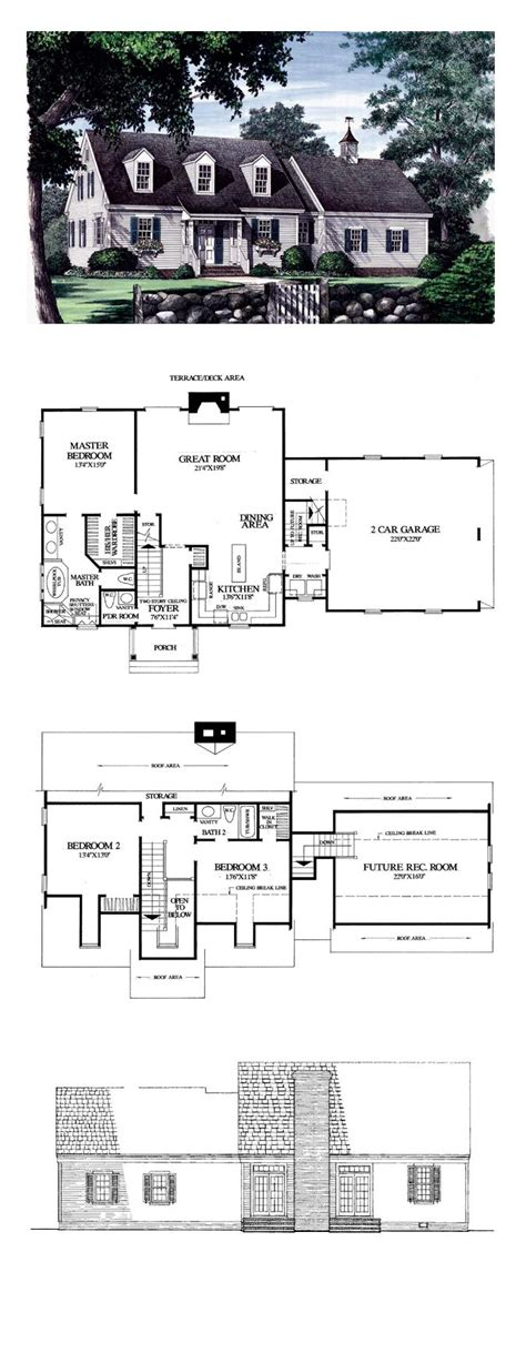 house plans cape cod cape cod traditional house plan 86102 house plans cape