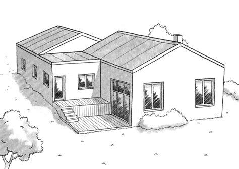 plan maison demi niveau 4 chambres plan maison à demi niveau ooreka