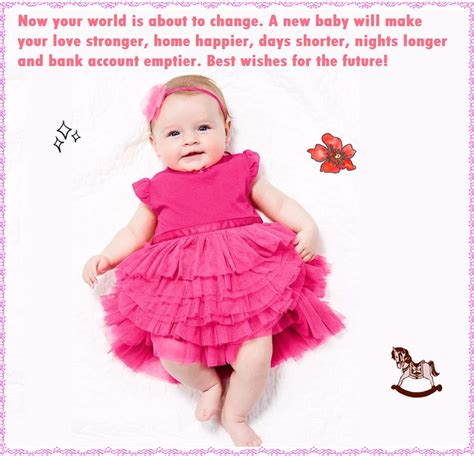 New Born Baby Girl Wishes Quotes