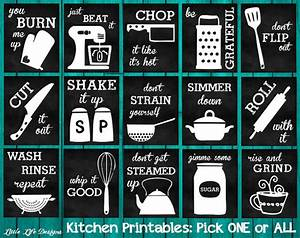 Kitchen decor kitchen utensil decor kitchen wall art funny for Kitchen colors with white cabinets with funny wall art quotes