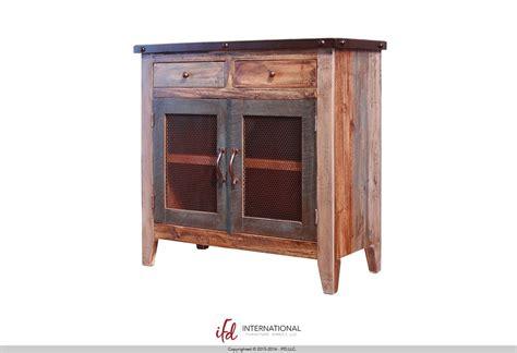 crosby rustic furniture console alvin houston