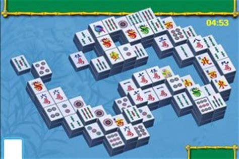 Mahjong Garten Mahjongspielende