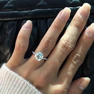 real engagement rings round diamonds With circle diamond wedding rings