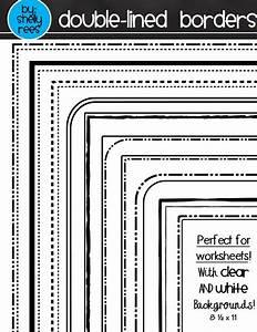 Transparent Worksheet Borders