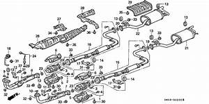 Exhaust System For 1992 Honda Accord 5