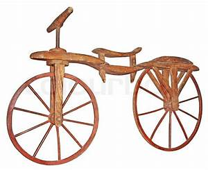 Fahrrad Wandhalterung Holz : altes holz fahrrad stockfoto colourbox ~ Markanthonyermac.com Haus und Dekorationen