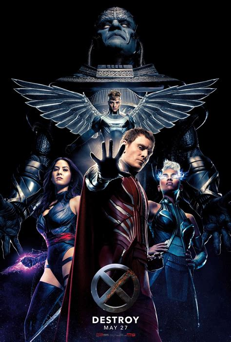 New 'X-Men Apocalypse' trailer reveals mutants at war