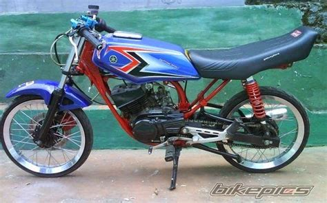 Modification Yamaha by Modification Yamaha Rx King Drag Modification Motorcycle
