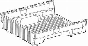 Toyota Tacoma Truck Bed Assembly  Rear   Wlongbed