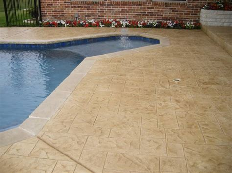 Diy Concrete Pool Deck Resurfacing Options by Resurfacing Sted Concrete Overlays