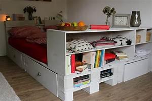 Palettenbett Selber Bauen Anleitungen Shop