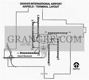 Image Of Denver  Airport Layout