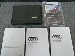 2019 Audi Q3 Quattro Owner Operator Manual User Guide Set