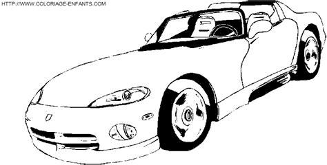 voiture de sport coloriage de voiture de course a decalquer