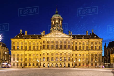 The Royal Palace In Dam Square, Amsterdam, Netherlands