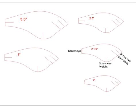 this is bait template fishing lure templates localbrush info