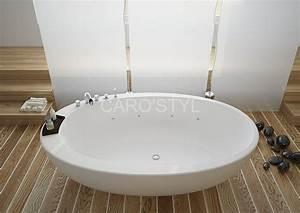 baignoire salle de bain pas cher With carrelage adhesif salle de bain avec baignoire balneo led