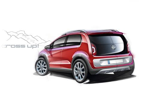 2018 Volkswagen Cross Up Concept Car Photos Catalog 2018