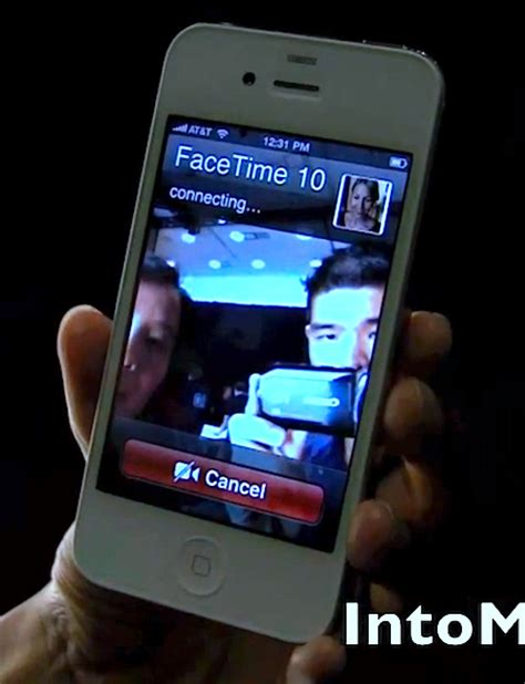 iphone 4 facetime iphone 4 facetime chat demo 2 way calls