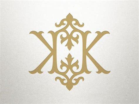 kk monogram wedding logo monogram wedding logo design wedding logos