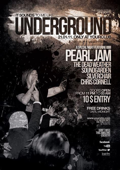 Grunge Flyer Poster Vol.2 - Indieground Design